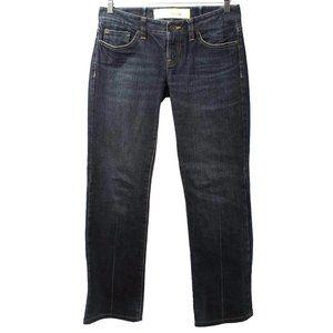 ANN TAYLOR LOFT Dark Wash Slim Bootcut Jeans
